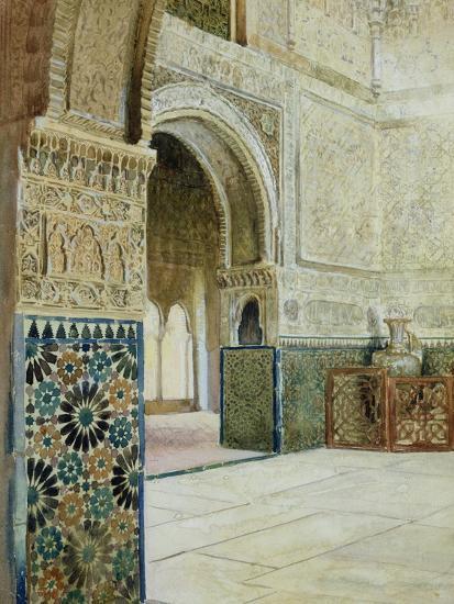 Interior of the Alhambra, Granada--Giclee Print