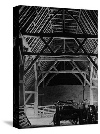 Interior of the Barley Barn at Cressing Temple