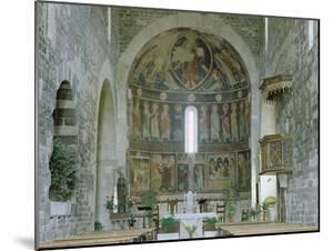 Interior of the Basilica Di Santa Trinita, Saccargia