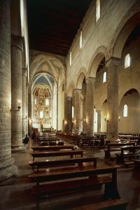 Interior of the Basilica of Sant'Abbondio Como, Italy, 11th-16th Century