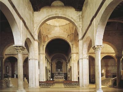 Interior of the Cathedral of San Ciriaco, Ancona, Italy, 11th-12th Century--Giclee Print