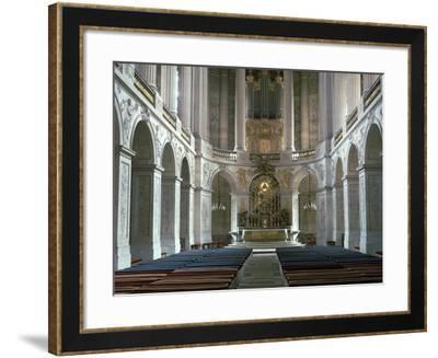 Interior of the Chapel at Versailles, 17th Century-CM Dixon-Framed Photographic Print