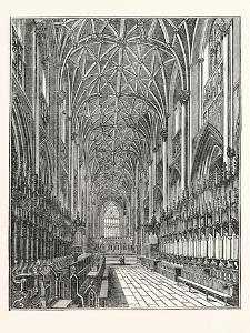 Interior of the Choir of York Minster