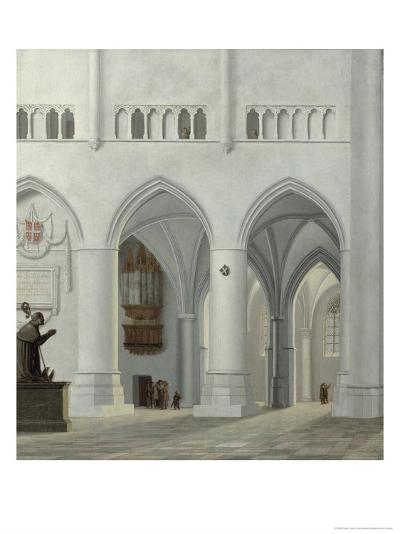 Interior of the Church of St. Bavo, Haarlem, 1630-Pieter Jansz Saenredam-Giclee Print