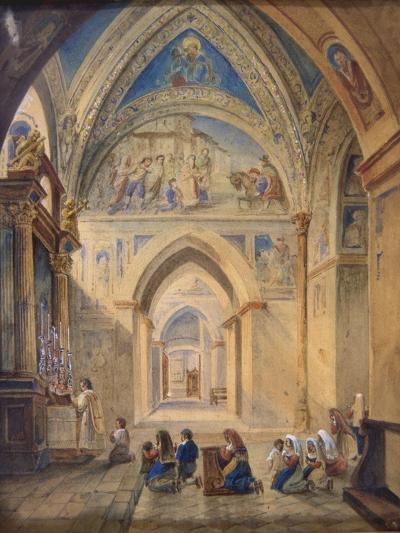 Interior of the Church of St Nicholas, Bari, Italy--Giclee Print