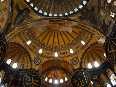 Interior of the Church of the Divine Wisdom at Aya Sofya-Kimberley Coole-Photographic Print