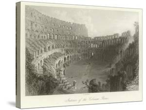 Interior of the Coliseum, Rome