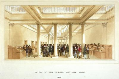 Interior of the Corn Exchange, Mark Lane, City of London, 1852--Giclee Print
