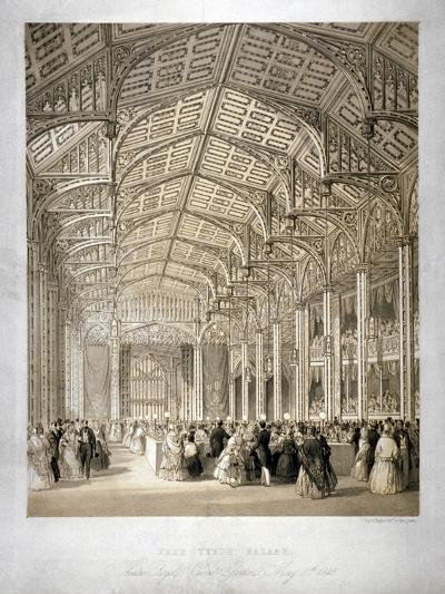 Interior of the Covent Garden Theartre, Bow Street, Westminster, London, 1845-Day & Haghe-Giclee Print