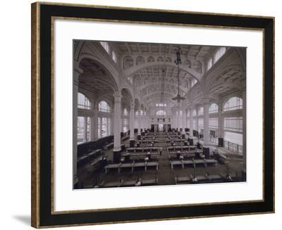 Interior of the Covered Fish Market in Trieste-Carlo Wulz-Framed Photographic Print