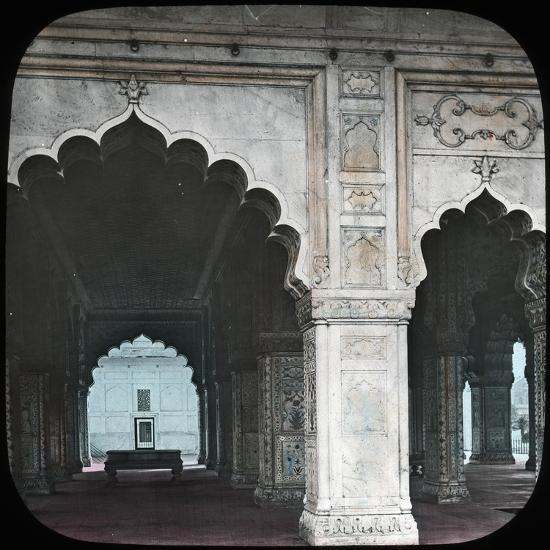 Interior of the Diwan-I-Khas, Red Fort, Delhi, India, Late 19th or Early 20th Century--Giclee Print