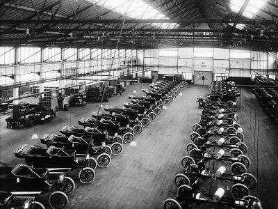 Interior of the Ford Works, Trafford Park, Manchester, C1911-C1927--Photographic Print