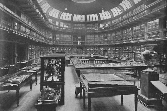 'Interior of the Geological Museum, Jermyn Street', 1904-Unknown-Photographic Print