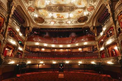 Interior of the Grand Opera House, Belfast, Northern Ireland, 2010-Peter Thompson-Photographic Print