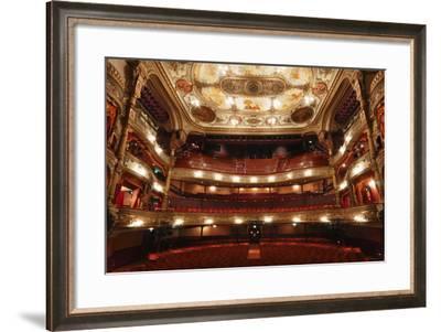 Interior of the Grand Opera House, Belfast, Northern Ireland, 2010-Peter Thompson-Framed Photographic Print