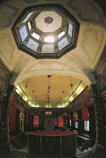 Interior of the Italian Synagogue, Venice--Photographic Print