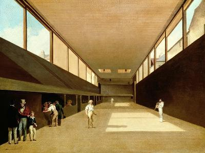 Interior of the Jeu De Paume, Versailles-Louis Leopold Boilly-Giclee Print