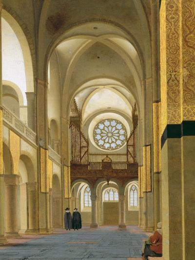 Interior of the Marienkirche in Utrecht, 1638-Pieter Jansz Saenredam-Giclee Print