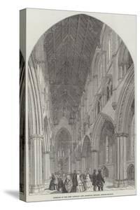 Interior of the New Catholic and Apostolic Church, Gordon-Square