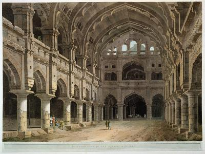 "Interior of the Palace, Madura, Plate XV from ""Oriental Scenery,"" Published 1798-Thomas Daniell-Giclee Print"