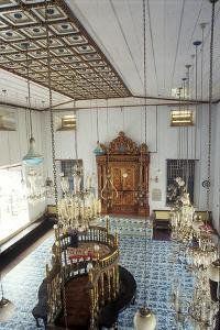 Interior of the Paradesi Synagogue