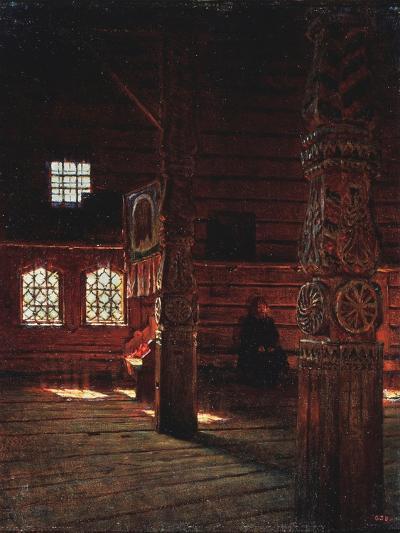 Interior of the Peter And Paul Church in Puchug-Vasili Vasilyevich Vereshchagin-Giclee Print