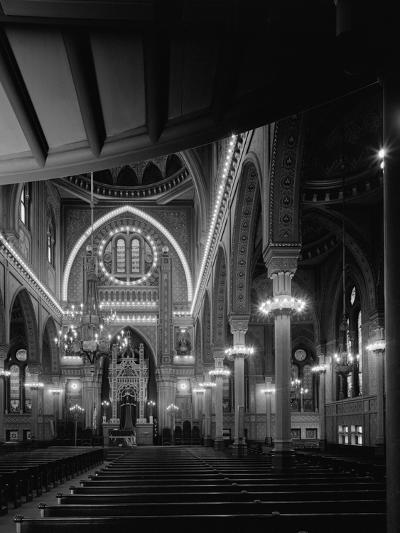 Interior of the Plum Street Temple-GE Kidder Smith-Photographic Print