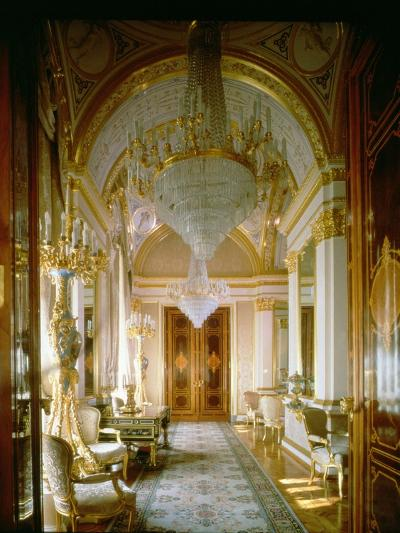 Interior of the Private Apartments of the Great Kremlin Palace--Giclee Print