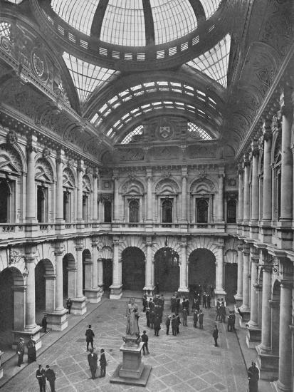 Interior of the Royal Exchange, City of London, c1910 (1911)-Unknown-Photographic Print