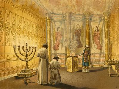 Interior of the Tabernacle-English School-Giclee Print