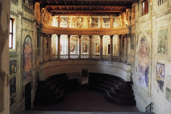 Interior of the Theatre in the Style of the Ancients--Photographic Print