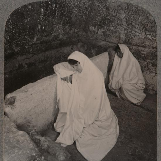 'Interior of the Tomb of Christ, c1900-Unknown-Photographic Print