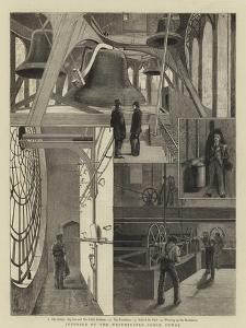 Interior of the Westminster Clock Tower