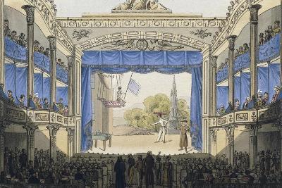 Interior of Theatre in Josefstadt (Theater in Der Josefstadt) in Vienna--Giclee Print
