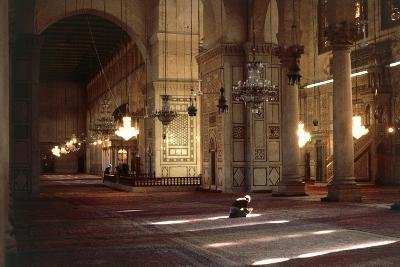 Interior of Umayyad Mosque or Great Mosque of Damascus--Photographic Print