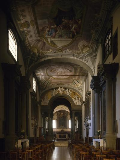 Interior of Vallombrosa Abbey, 11th-17th Century, Tuscany, Italy--Giclee Print