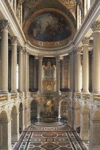 Interior of Versailles' Chapel