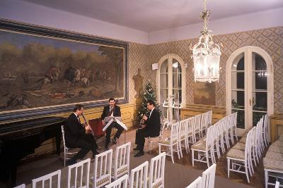 Interior of Villa Bertramka, Prague, Czech Republic--Photographic Print