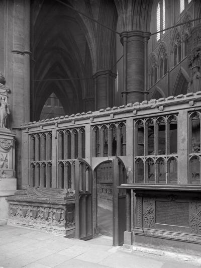 Interior of Westminster Abbey, London-Frederick Henry Evans-Photographic Print