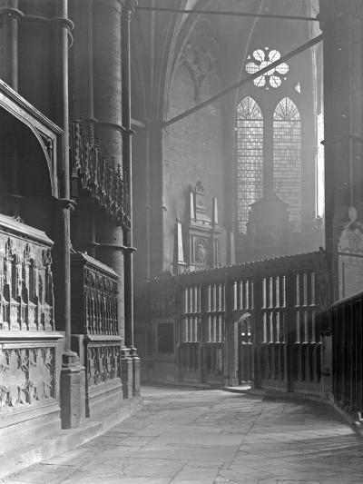 Interior of Westminster Abbey-Frederick Henry Evans-Photographic Print