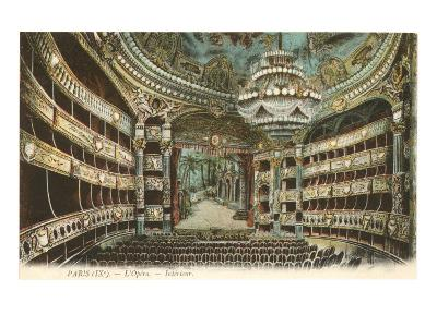 Interior, Opera House,Paris, France--Art Print