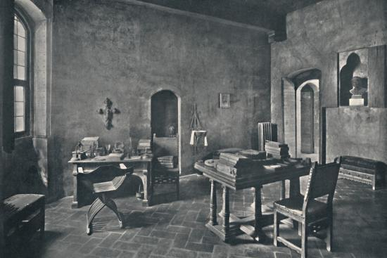 'Interior, Palazzo Davanzati', 1928-Unknown-Photographic Print