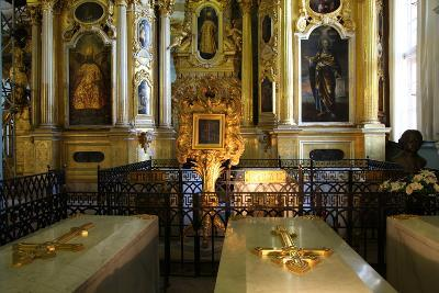 Interior, Peter and Paul Cathedral, St Petersburg, Russia, 2011-Sheldon Marshall-Photographic Print