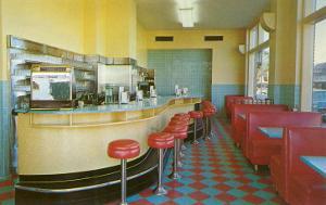 Interior, Retro Diner