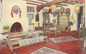 Interior, Southwest Home