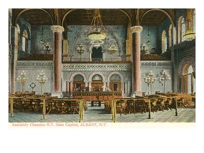 Interior, State House, Albany, New York--Art Print