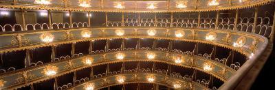 Interior, Stavovske Theater, Prague, Czech Republic--Photographic Print