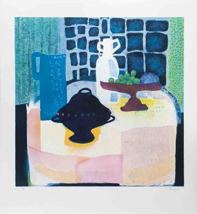 Interior, Still LIfe-Wendy Chazin-Limited Edition