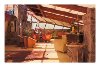 Interior Taliesin--Art Print