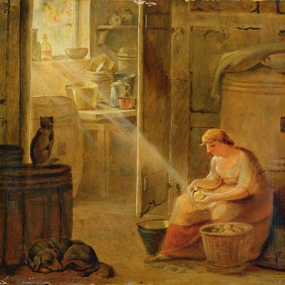 Interior (The Potato)-Johann Heinrich Wilhelm Tischbein-Giclee Print